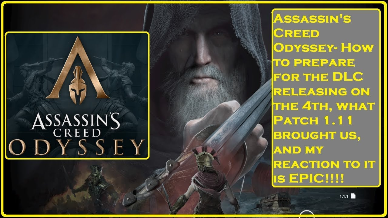 assassins creed odyssey patch 1.11 pc download