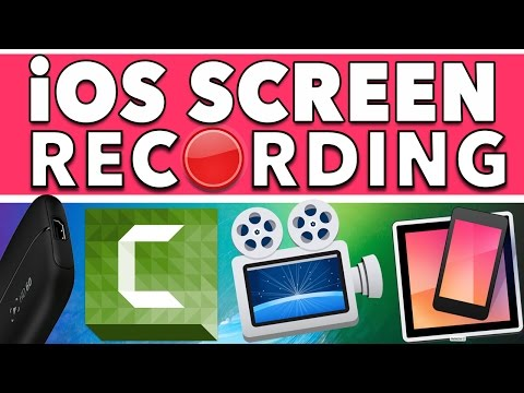 How To Record Your iPhone & iPad Screen 2017 - Epic Guide To