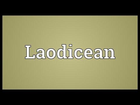 Header of Laodicean