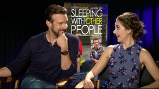 Sit Down with The Stars: Jason Sudeikis & Alison Brie Discuss Sleeping With Other People