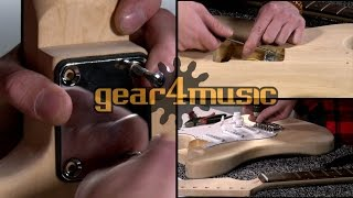 Electric Guitar DIY Kits by Gear4music Resimi