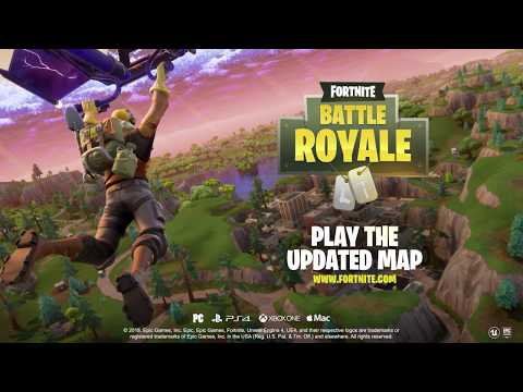 Fortnite Battle Royale - Map Update!