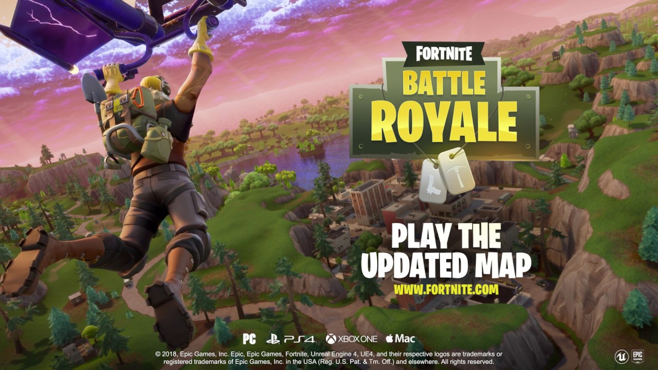 Fortnite Battle Royale Map Update