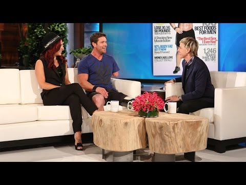 'DWTS' Duo Noah Galloway and Sharna Burgess Perform! - YouTube
