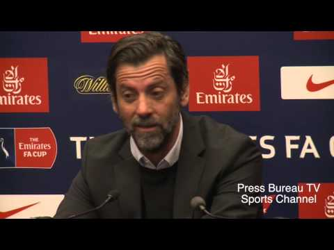 Quique Sánchez Flores reaction Watford vs Crystal Palace FA CUP