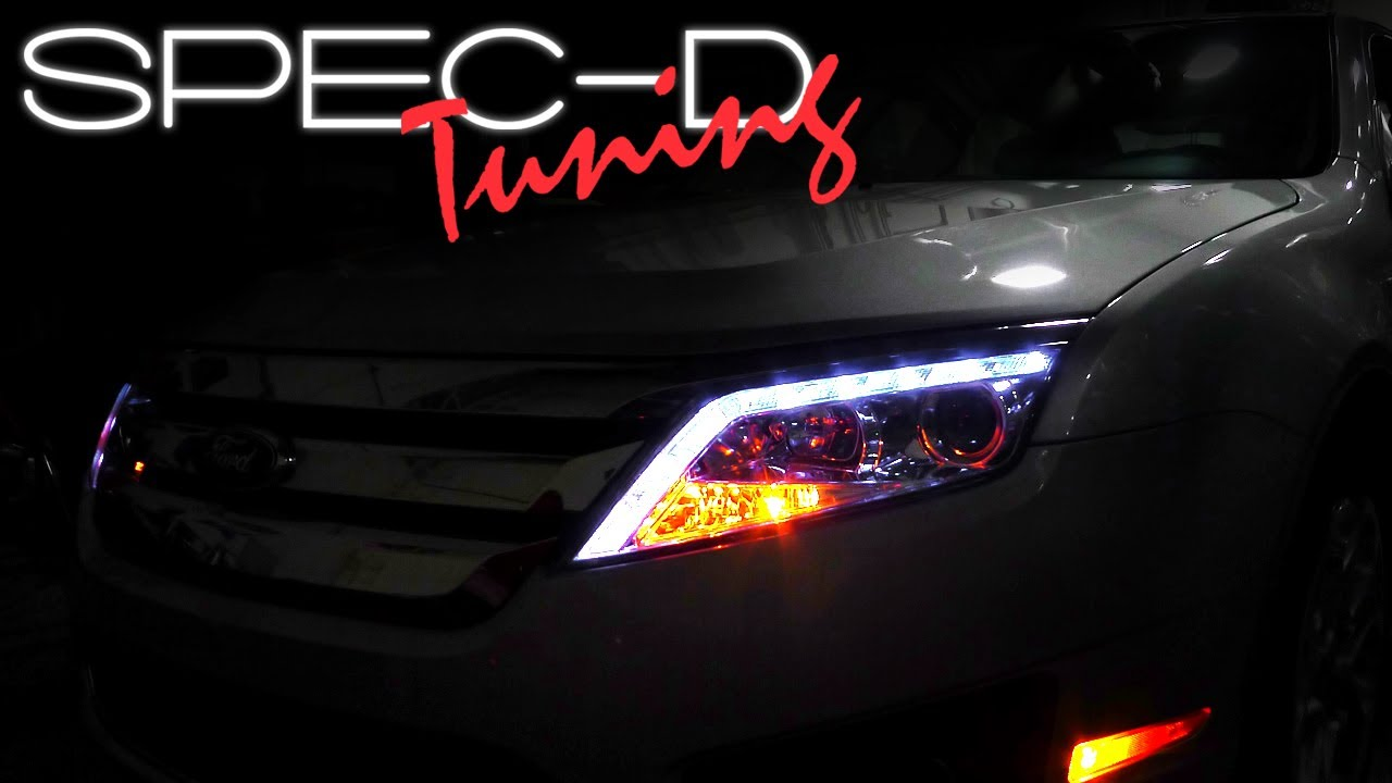 Specdtuning Installation Video 2010 2012 Ford Fusion Led