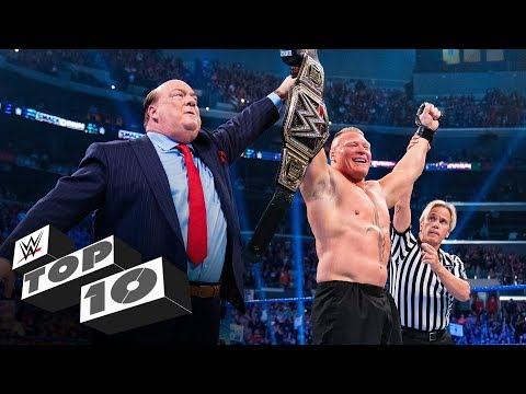 Most shocking moments of 2019: WWE Top 10, Dec. 29, 2019