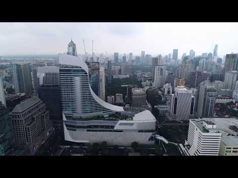 One perspective of Central Embassy in Bangkok