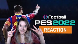 My reaction to the eFootball Official Reveal Trail