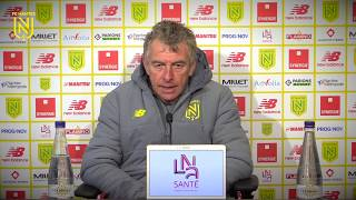 VIDEO: Christian Gourcuff avant FC Nantes - FC Metz