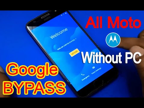 All Moto Bypass Google Account Frp Lock 2019 (NO PC) #AndroidUnlock