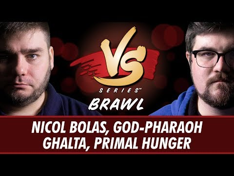 5/25/18 - Anderson VS Brad: Nicol Bolas, God-Pharaoh VS Ghalta, Primal Hunger [Brawl]