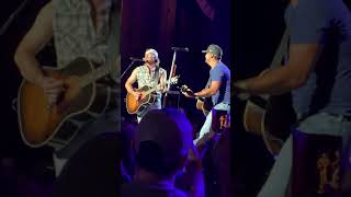 "Luke Bryan and Morgan Wallem ""whisky glasses"" Jones beach 7/14/19"
