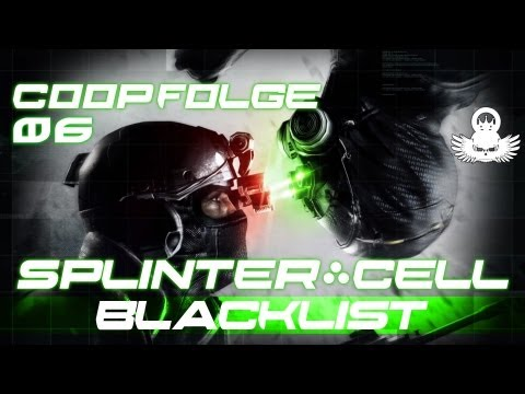 Let's Play Splinter Cell Blacklist Coop #06 [German/Full-HD/Perfektionist] Kobin Abgeschlossen