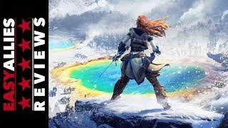 Horizon Zero Dawn: The Frozen Wilds - Easy Allies Review (Video Game Video Review)