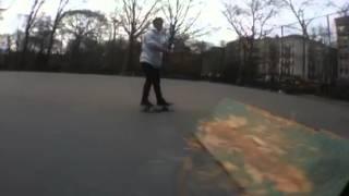 Mitchel Linger - Frontside Noseblunt @ Tompkins Square Park NYC