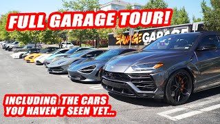Download *YOU ASKED FOR IT* OUR FIRST SUPERCAR GARAGE TOUR! Mp3 and Videos