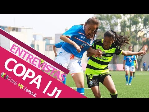 Entrevistas Jornada 1 del Torneo de Copa de la Liga MX Femenil 2017