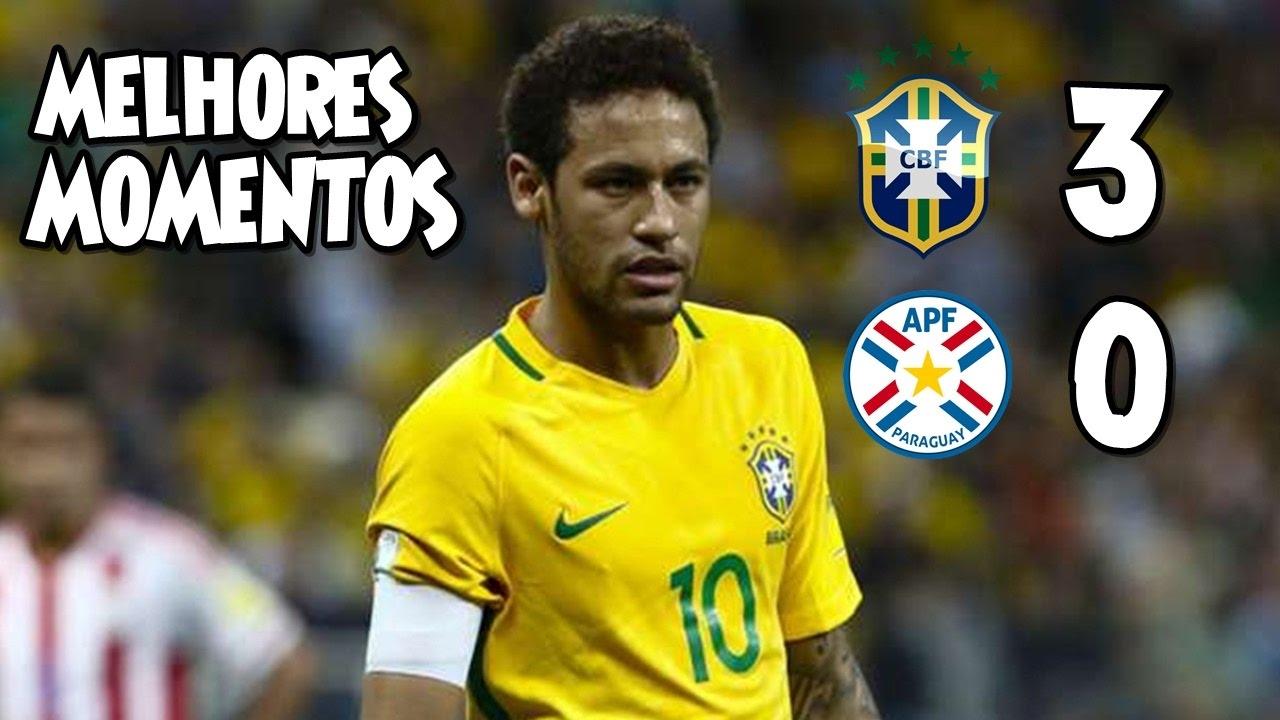 Download Brasil 3 x 0 Paraguai - Melhores Momentos 28/03/17 - Eliminatórias Copa 2018