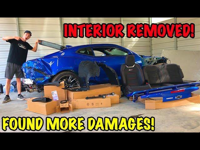 Rebuilding A Wrecked 2018 Camaro ZL1 Part 7