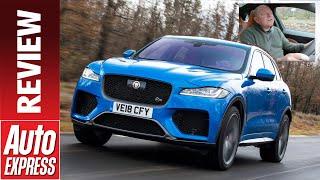 New Jaguar F-Pace SVR review - is Jag