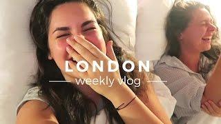 London Vlog: Sleepovers, Weddings and Boats