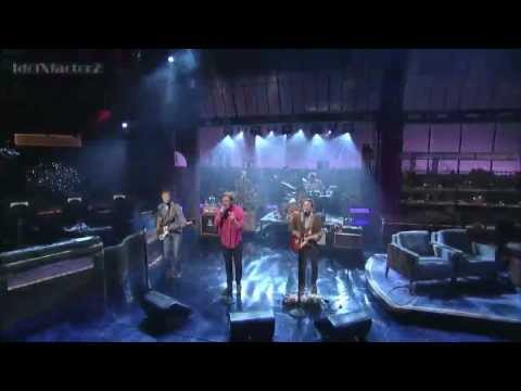 Red Wanting Blue - Audition on Late Show w/ David Letterman - 07.18.12