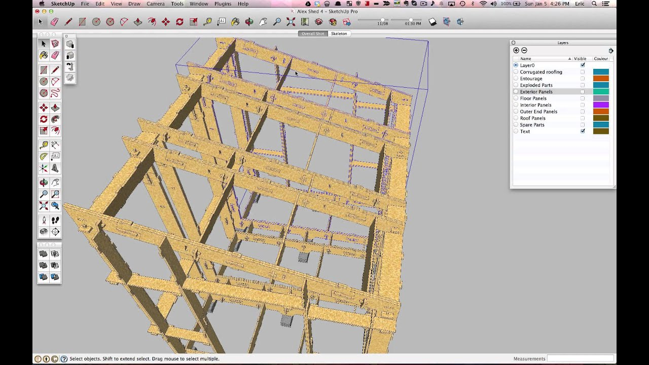 Sketchup Building Plans