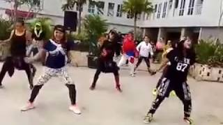 Video heboh joged Zumba dangdut jaran goyang  with Zin wiwk abe and her team download MP3, 3GP, MP4, WEBM, AVI, FLV November 2017