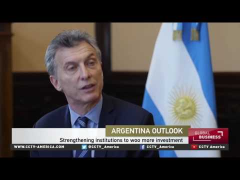 Argentina's President Macri on Argentina Business and Investment Forum