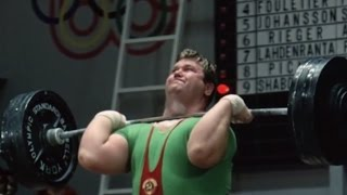 1964 Olympic Weightlifting, +90 kg class.