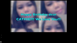 Happy Birthday Cathie Thumbnail