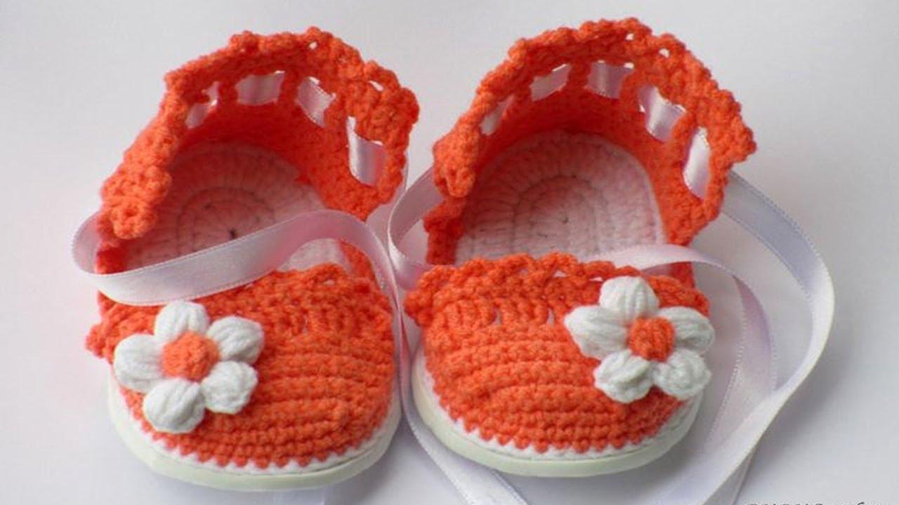 Free crochet baby gladiator sandals pattern youtube free crochet baby gladiator sandals pattern bankloansurffo Images