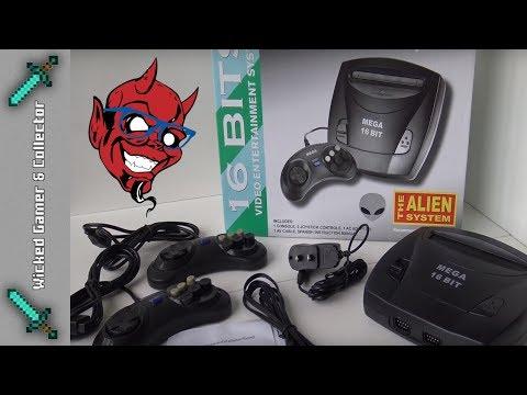 Sega Megadrive / Genesis 3 - Clone System with Alien Tech Inside !