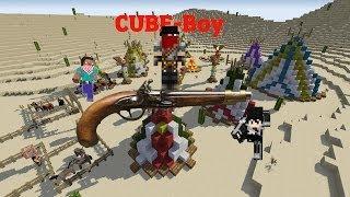 Minecraft - Cube-Boy - Episode 1 - Arrêtez ce train !!!