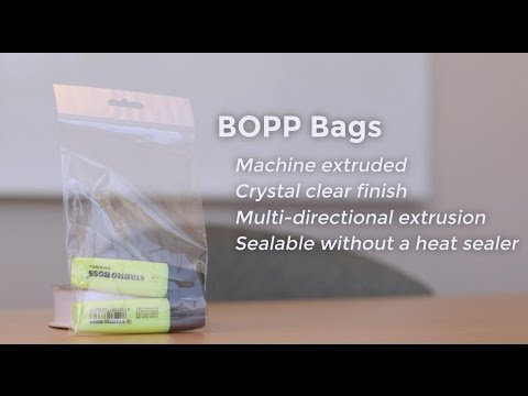 BOPP and Polypropylene Bags - What's the Difference?