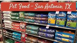 Pet Food - San Antonio, TX