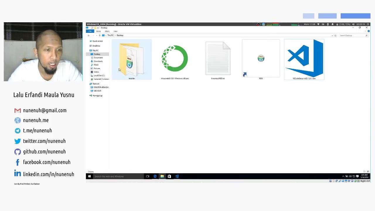 Python 3 Fundamental - Install Visual Studio Code pada Windows 10