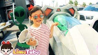 에일리언 가게에서 파는 물건은? 라임의 마트놀이 Alien Jelly Shop | LimeTube toy review