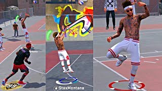 I FOUND A NEW GLITCHED JUMPER FOR NBA 2K19! NOTHING BUT GREENS DROPPING DAY 1! - NBA 2k18 MyPark
