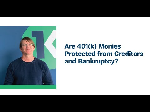 Are 401k Monies Protected from Creditors and Bankruptcy?  HD 720p