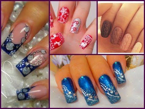 35 Cute Nail Art Designs for Winter! - YouTube