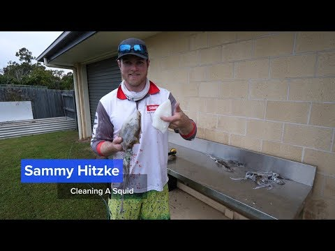 How to Clean Squid | Fisho App