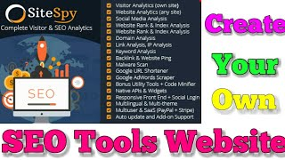 The Most Complete Visitor Analytics & SEO Tools | create your own seo tool