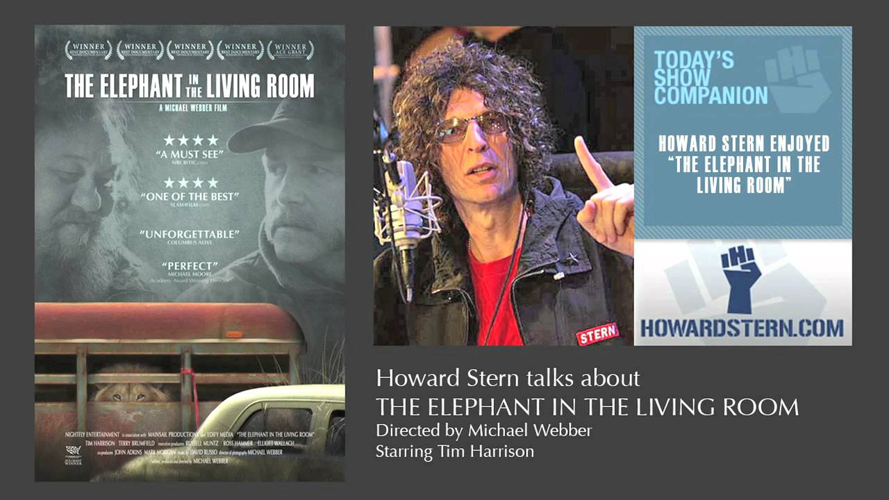 The elephant in the living room howard stern youtube for The elephant in the living room watch online
