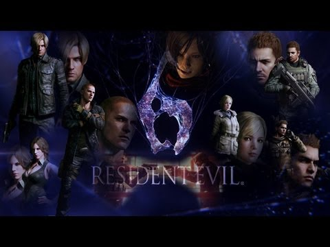 Resident Evil 6 The Mercenaries All Characters Costumes Youtube