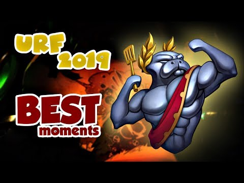 URF Best Moments | Plays Montage | League of Legends | 2019