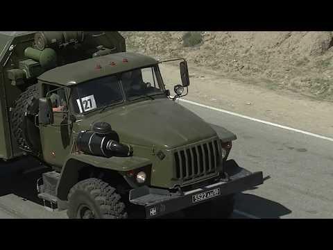 Убытие военных специалистов полевого госпиталя из Дагестана