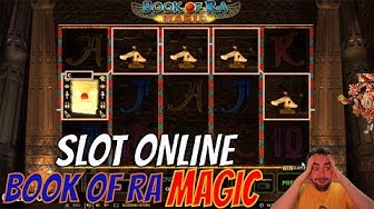 SLOT ONLINE - E dopo la Botta alla 6 torna la BOOK OF RA MAGIC 📕💫