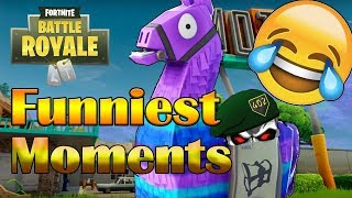 Loot LlAMA Opening in Fortnite Battle Royale + Funny & Best Moments w/402THUNDER402